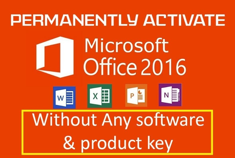 Download Microsoft Office 2016 Full Crack + Product key For Free